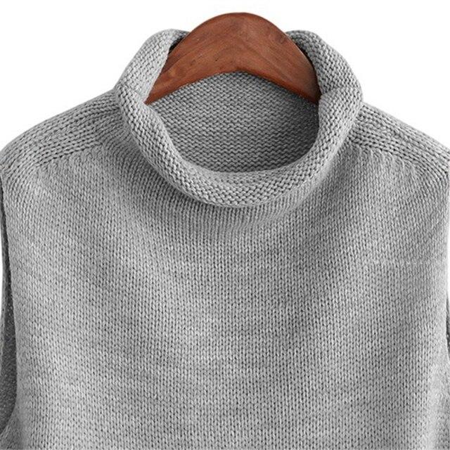 FRSEUCAG Hot high collar sleeveless loose ladies vest ladies knit fashion sleeveless sweater wholesale Brand pullover women 2019 4