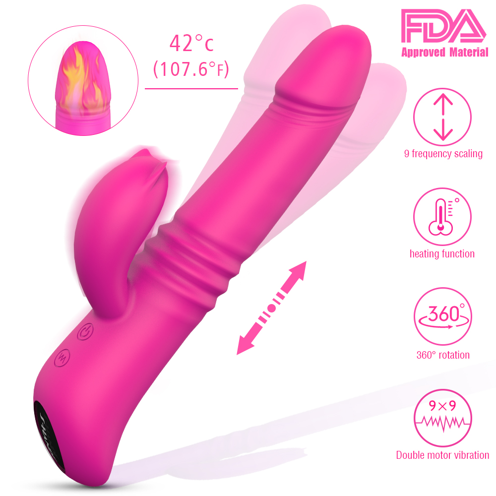 SHD030 Dildo Vibrator Sex Toys for Women Erotic Product Adult Toy 9 Vibration Modes Vibrators Women for Sex Female Vibrator angie queen естественный цвет 16 дюймов
