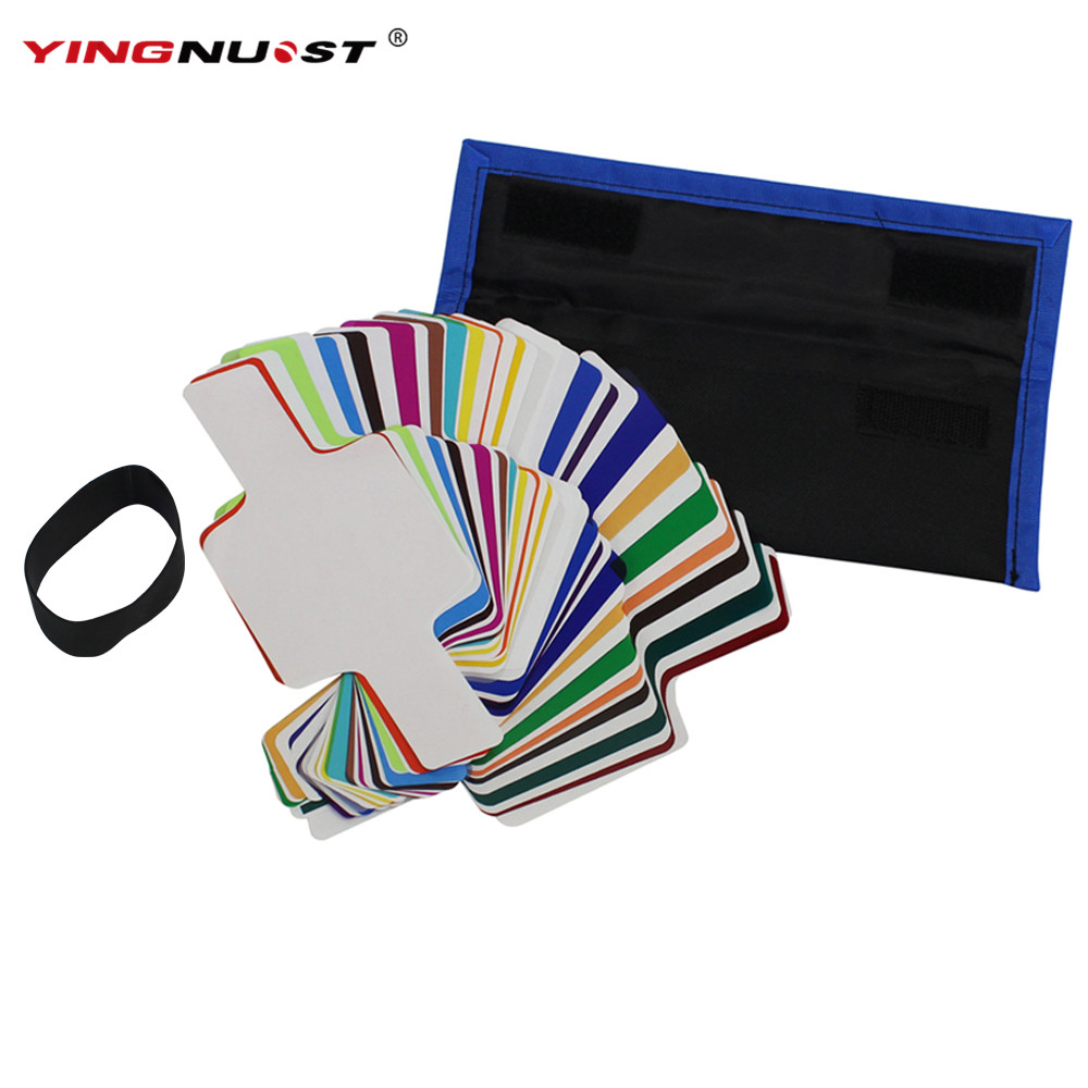 Buy 20 Color Filter And Get Free Shipping On Viltrox 20pc Strobist Flash Gel For Speedlight Diffuser
