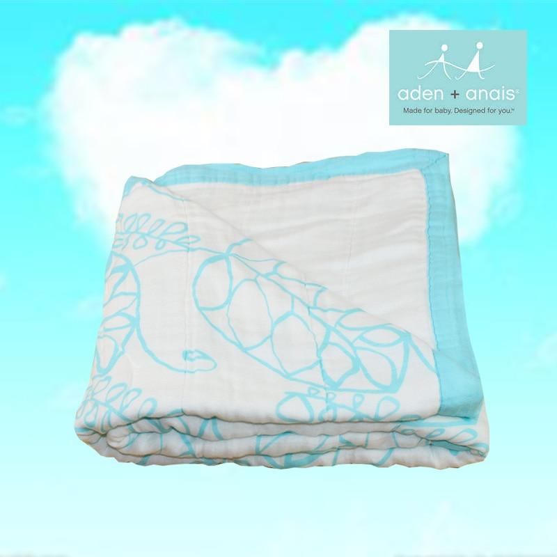 Детское одеяло из муслина Бамбуковое волокно Новорожденный Ванна Путешествия Полотенце пеленание Деформация Многофункциональное одеяло 8 слоев Утолщение