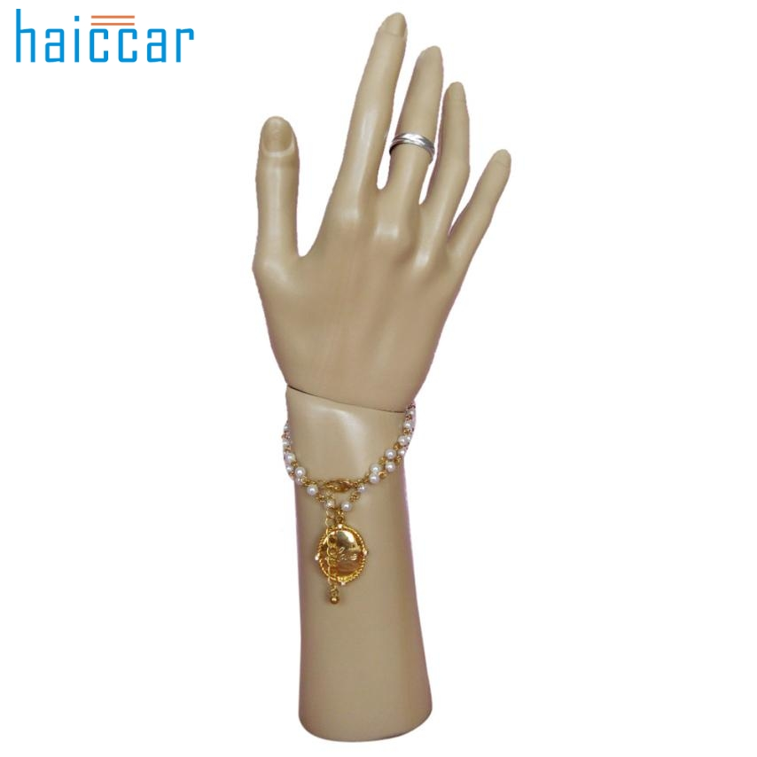 Beauty Girl Hot Best Deal Rotatable Mannequin Hand Arm Display Base Female Gloves Jewelry Model Stand Nov.28
