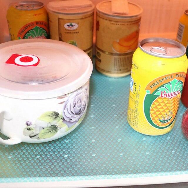 4pcs tapis antibactérien pour votre frigo 5