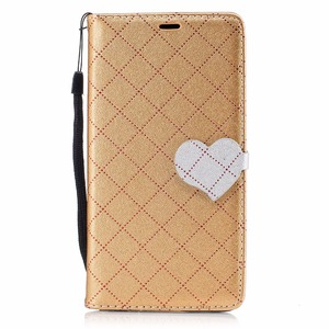 PU Leather Case For Nokia 5 Nokia5 Cover Fashion Love Hit Color Flip Stand Coque With Card Holders Wallet Mobile Phone Bag Cases