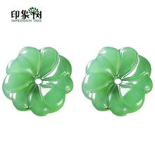 Gradient Color Lampwork Beads 10pcs 15mm Daisy Flower Petal Shape Glass Charm Handmade Ornaments DIY Jewelry Makings 16025(China)