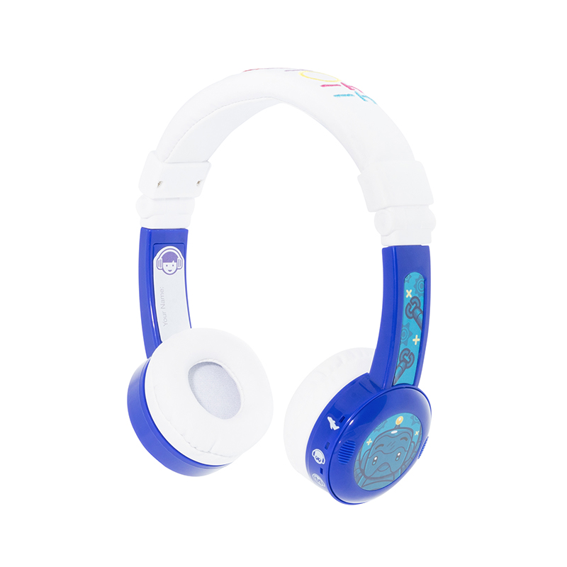ONANOFF Kids Volume Limited Headphones BuddyPhones InFlight Professional Children Over Ear Headsets Health Listening Earphones onanoff buddyphones explore professional children kids headsets safety volume limiting headphones with mic listening earphones