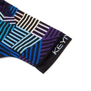 Image 5 - Keyiyuan קצר שרוול אופני בגדי קיץ סגנון פרו MTB ג רזי חולצה