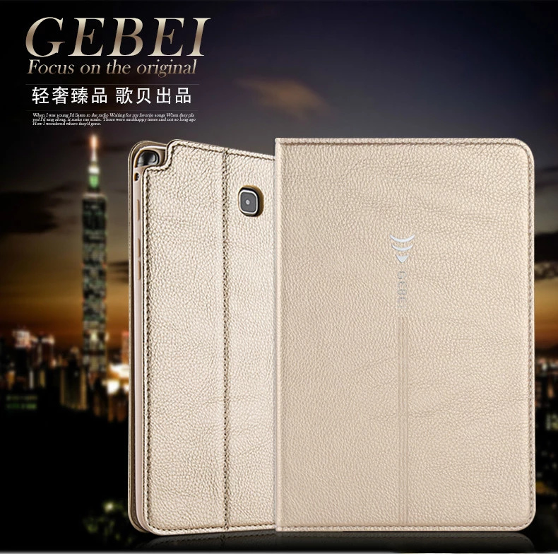 Gebei JinCan Magent Wallet Smart Case For samsung galaxy tab A 8.0 SM-T350 T351 T355 8 Tablet case Flip Cover