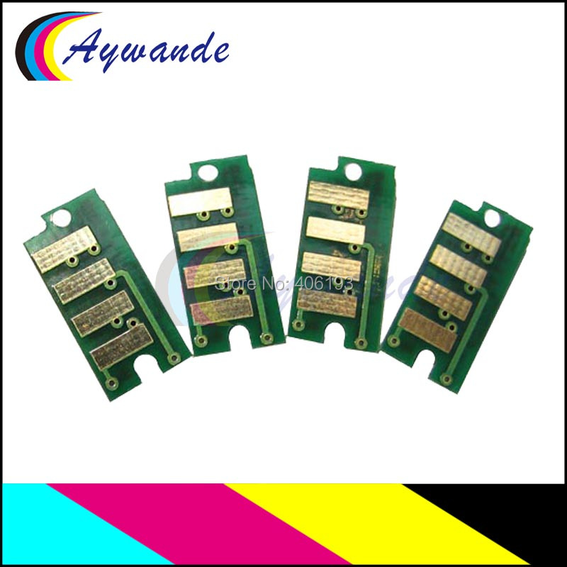4 x Reset Chip For Dell C1660W DELL C1660CNW 332-0399 332-0400 332-0401 332-0402
