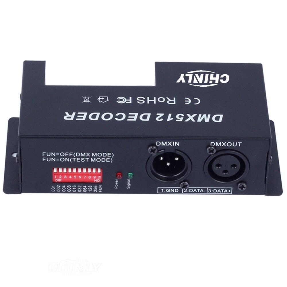 DMX 512 RGBW LED Decoder 4 ալիքներ RGBW հաստատուն - Լուսավորության պարագաներ - Լուսանկար 3