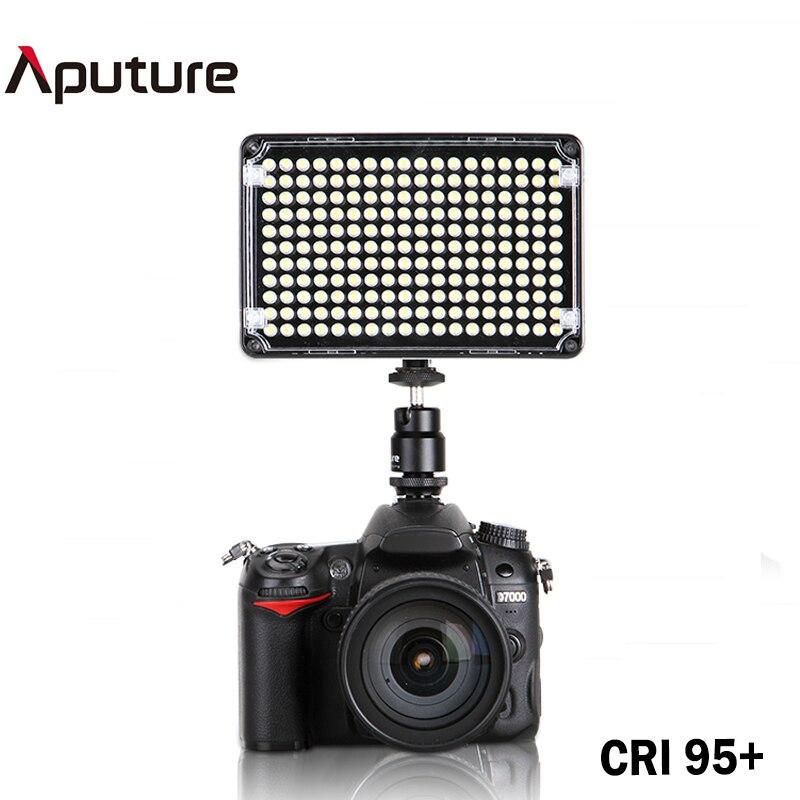 Aputure Amaran AL-H198 LED Video Light Color Temperature Adjustment 5500K Studio Lighting for Canon Nikon Sony Camcorder стоимость