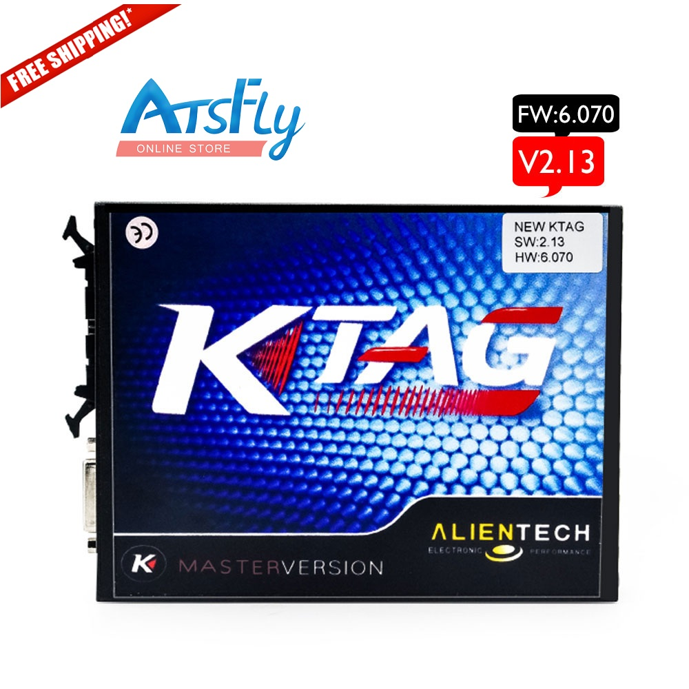 Hot V2.13 for KTAG K-TAG ECU Programming Tool Master Version Hardware V6.070 ktag No Token limited V 2.13