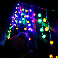 New Year 4X0.7M LED Cristmas Lights Outdoor Navidad LED Christmas Garlands Decoration LED Curtain Fairy Lights Luzes de Natal