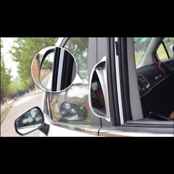Car Accessories Door Blind Spot Mirror Auxiliary Rear View Mirror For Vw Golf 7 Mk7 Golf 6 Tiguan Polo Jetta Passat Skoda 2pcs фото