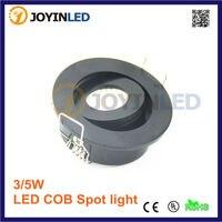6PCS 3W Mini LED Recessed Led Cabinet Spotlight Light AC 18W Driver Power Wire Mini Connector
