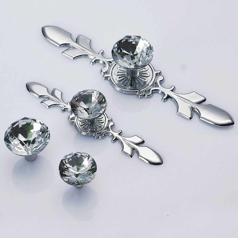 JD lüks elmas kristal kolları ayakkabı kutusu dolabı mobilya kolları dolap kapı çekmece kolları dolap donanım çeker