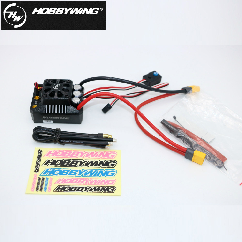 1pcs Original Hobbywing EZRUN Max6 V3 160A Speed Controller Waterproof Brushless ESC XT60 Plug/T Plug for 1/6 RC Car