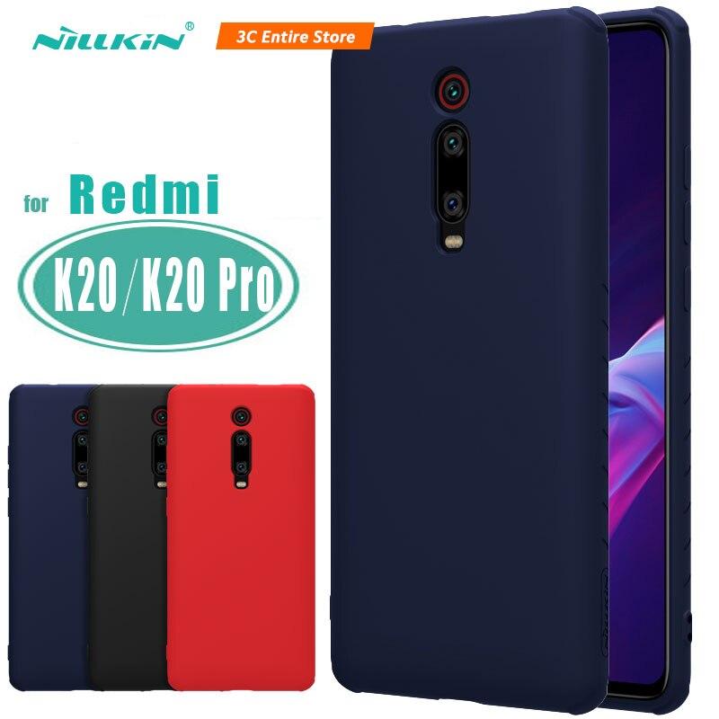 Nillkin Liquid Silicone Case For Xiaomi Redmi K20/K20 Pro/ Mi 9T/Mi 9T Pro Soft Gel Rubber Thin Slim Protective Phone Case
