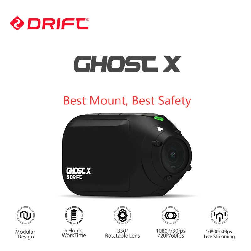 ใหม่มาถึง Drift X กล้องกีฬากล้อง 1080P รถจักรยานยนต์จักรยานเสือภูเขาจักรยานกล้อง CAM พร้อม WIFI