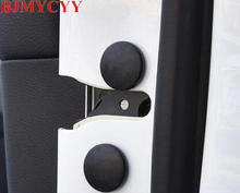 BJMYCYY 12PCS/SET Automobile door screw protection cover for VW Volkswagen Golf MK7 2014 bjmycyy free shipping car trunk handle metal light box for vw volkswagen golf mk7 2014
