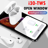 i30 TWS Pop up 1:1 Replica Wireless Earphone 6D Bass Separate Use Bluetooth 5.0 Earphones PK i10 i20 i12 i60 TWS W1 Chip