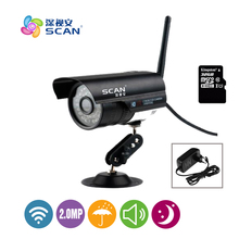 hot deal buy hd 1080p bullet ip camera wifi motion detection outdoor waterproof mini card black cctv surveillance security freeshipping