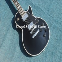 Nouvelle arrivée top qualité kpole R9 Vos les personnalisé noir embellir Électrique Guitare, Personnalisé Paul guitare, argent matériel, livraison Gratuite
