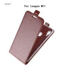 HUDOSSEN For Leagoo M11 M 11 Luxury Flip Case PU Leather Back Cover Capa For Leagoo M11 Protective Phone Housing Carcasas цена