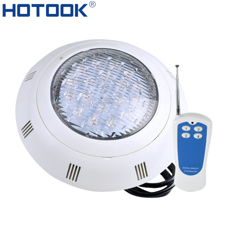 HOTOOK Underwater Lights RGB Surface Mounted LED Swimming Pool Light IP68 Waterproof 12V 24VWhite Focos Bulbs Pond Lights Lamp дверь casaporte сицилия 11 глухая 1900х550 экошпон венге мелинга