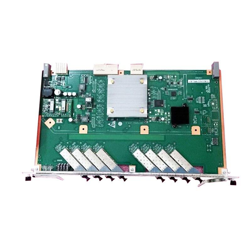 HUWEI GPON EPON 8Ports Service Card For HUAWEI OLT with C++ SFP ModulesHUWEI GPON EPON 8Ports Service Card For HUAWEI OLT with C++ SFP Modules