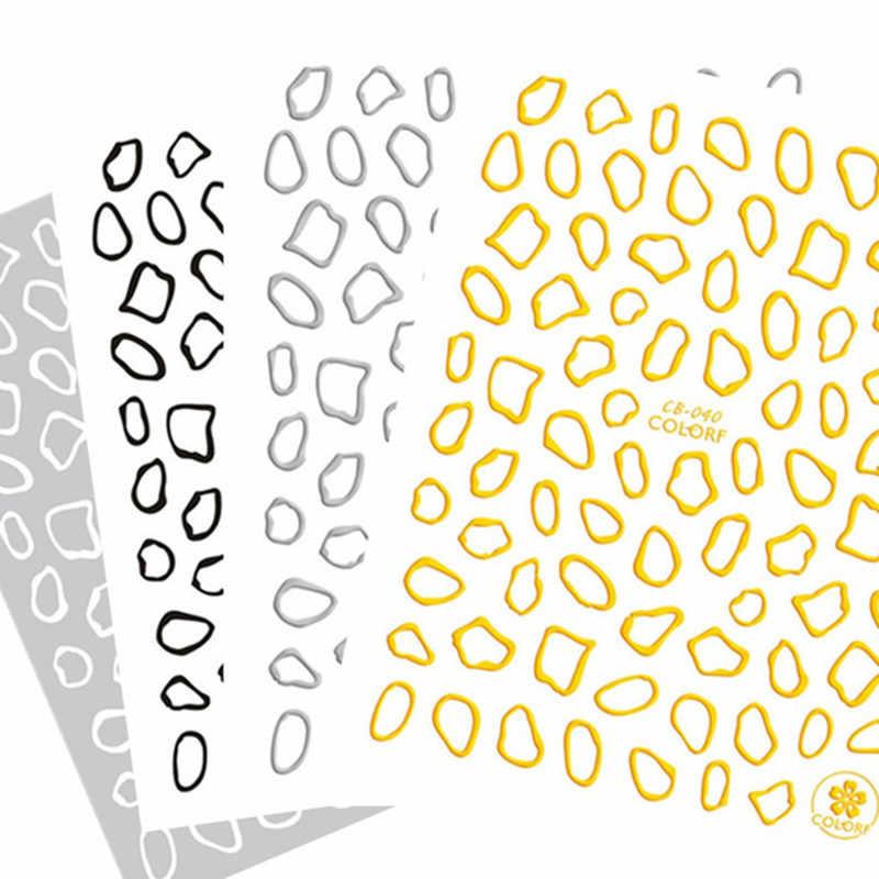 Najnowszy 3d nail art naklejki cb-40 jelenie naklejki narzędzie DIY do paznokci narzędzia do dekoracji