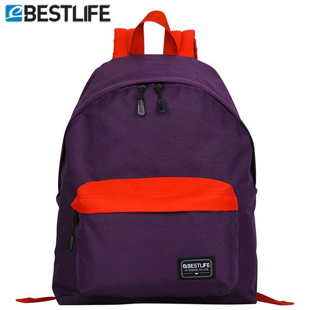 0202cb1d87 BESTLIFE Purple Classic School Backpacks Basic Travel Rucksacks Teenage  Student BagPack With Computer Sleeves mochila escolar