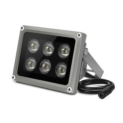 YiiSPO Массив ИК осветитель инфракрасная лампа 6 шт. Массив Led IR Открытый IP65 Водонепроницаемый ночного видения для камеры видеонаблюдения ...