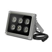 ИК осветитель yiispo 6 светодиодов ночное видение 90 60 45 градусов