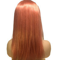Malaysian Remy Hair 13*4 Lace Front Human Hair Wigs Pure Color 613 Honey Blond Straight Hair 100% Human Hair Lace Front Wig Blue