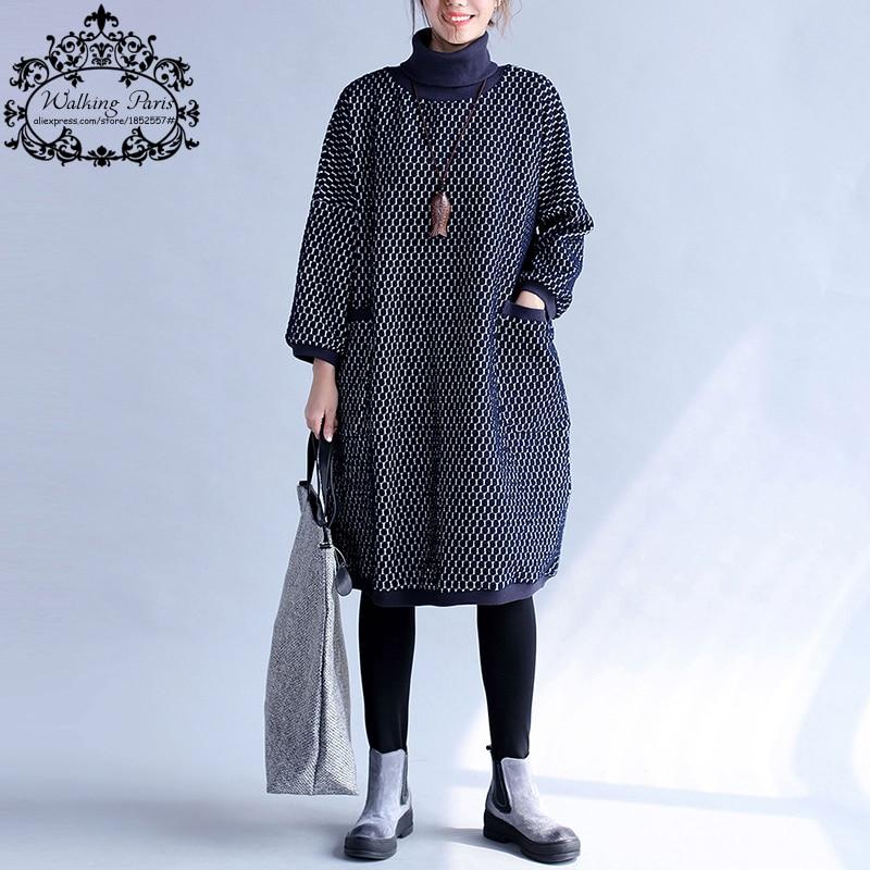 Resultado de imagen de plus size turtleneck plus polka dot dress