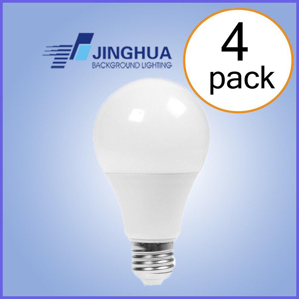 2018 new LED Light Bulb 9W,12W,15W, A19 A60 E27 LED Bulbs,Not Dimmable, Warm White,3000K,Cold White 5000K(Pack of 4)