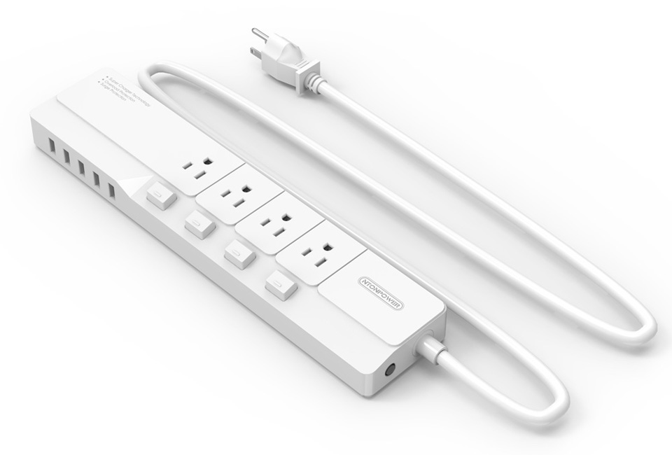 NTONPOWER NSJ US Plug Power Strip (8)