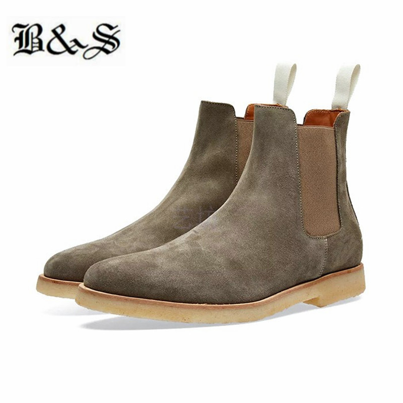 Black& Street Handmade Street Cow Leather casual Men Boots Fashion Wedding Chelsea Boots Vintage Motorcycle BootsBlack& Street Handmade Street Cow Leather casual Men Boots Fashion Wedding Chelsea Boots Vintage Motorcycle Boots