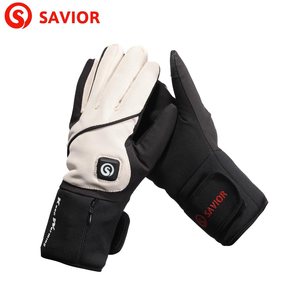 Savior Brand Lithium Battery Eletric Heating Winter Gloves -6634