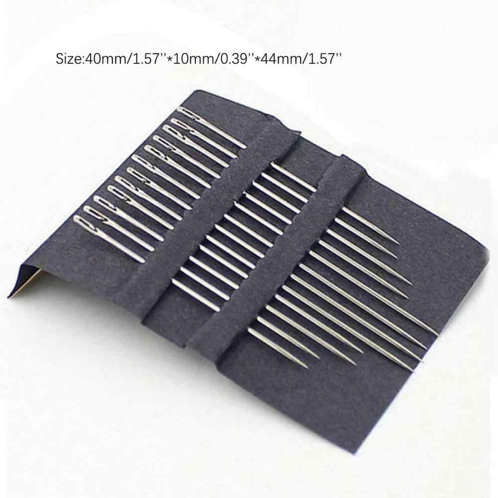 مجموعة إصلاح الخياطة اليدوية من 12 إبر من القماش
