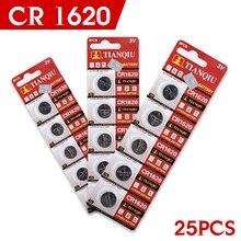 Atacado de Alta Qualidade 25 PCS 3 V Células de Lítio Coin Botão Bateria Alta Eenergy 1620 Ecr1620 Cr1620