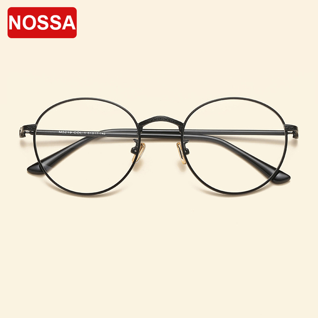 Fashion trendy round glasses frames vintage students optical eyewear fashion trendy round glasses frames vintage students optical eyewear frame myopia prescription eyeglasses women men spectacles thecheapjerseys Images