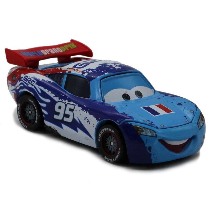 Disney Pixar Cars 2 France Limited Edition No.95 Lightning Mcqueen ...
