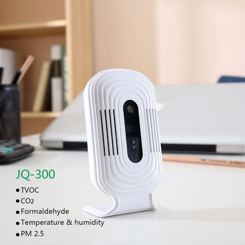 JQ-300 PM2.5 Wifi Digital Formaldehyde Gas Detector Meter Tester Sensor HCHO&TVOC&CO2 Air Analyzers Monitor Temperature&Humidity free shipping china hcho ch2o formaldehyde monitor environmental with temperature humidity