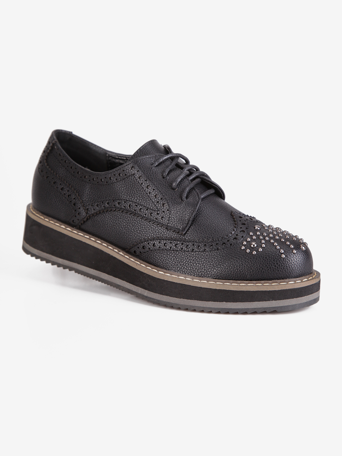 SWEET SHOES Brogues With Studs-low