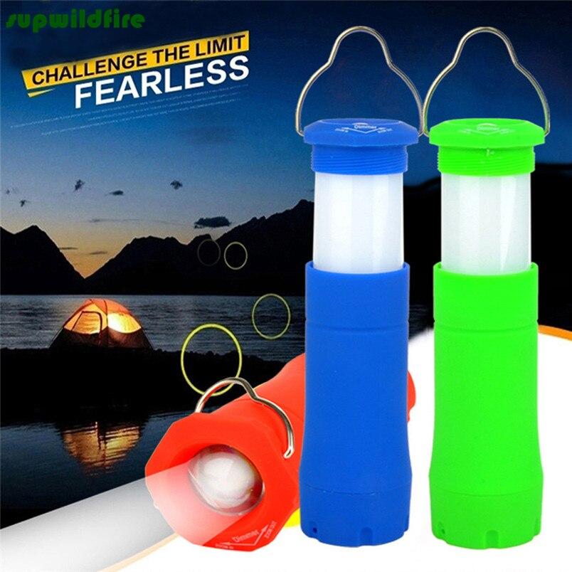 HOT!!! Led camping lights portable flashlight outdoor tent lights tool lights Free Shipping #NN01