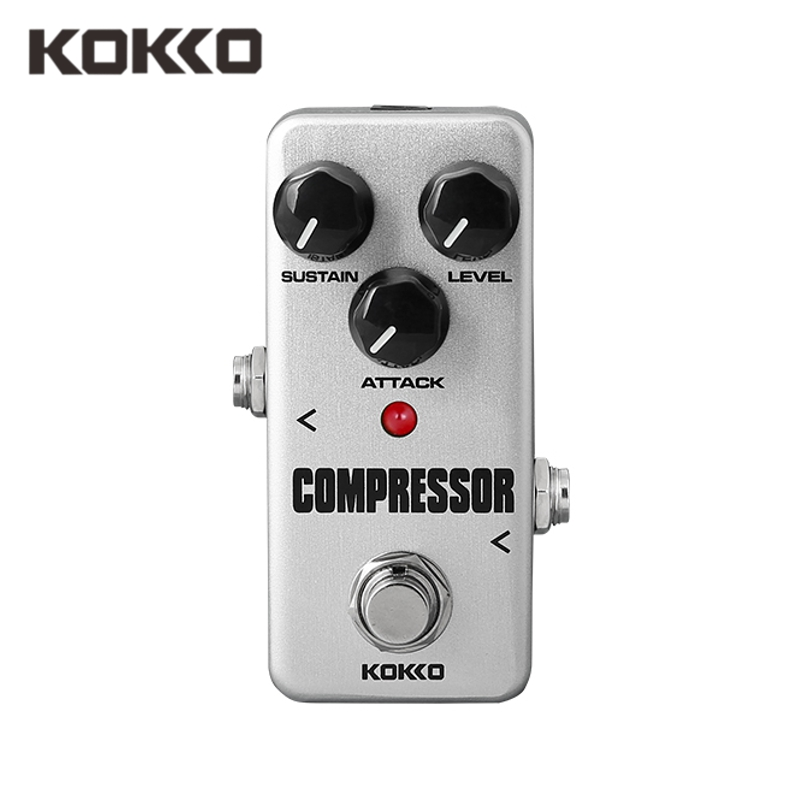 buy kokko fcp2 compressor mini guitar pedal portable effect pedal guitar part. Black Bedroom Furniture Sets. Home Design Ideas
