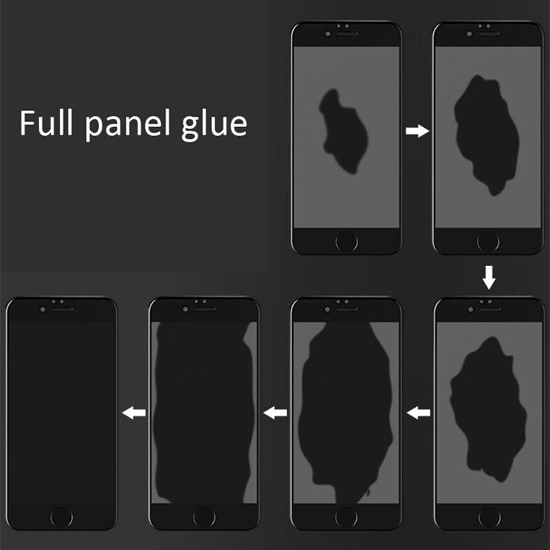 Image 5 - 2pcs LCD Screen Protector Xiaomi Mi 8 Lite Full Glue Glass Xiomi Mi 8 Lite 2.5D Full Cover Tempered Glass For Xiaomi Mi 8X Film^-in Phone Screen Protectors from Cellphones & Telecommunications