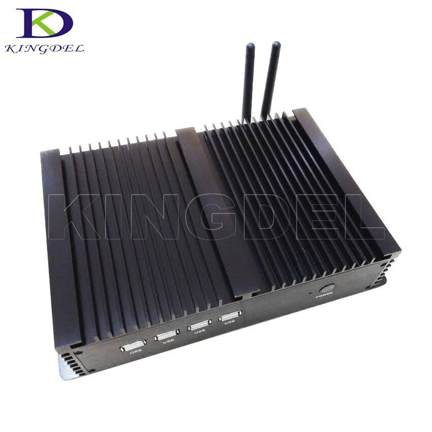 Mini PC industrial Micro Computadora de Escritorio Intel Celeron 1037U/Core i5 3317U Dual Core, Intel Nuc, 2 * LAN, 4 * COM, WiFi, HDMI, Windows10