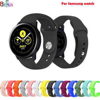 sport watch band Galaxy 42MM For Samsung Gear S2 Classic/Frontier smart watch strap For Samsung Galaxy watch active wrist band 20mm luxury leather strap for samsung gear sport s2 watch band classic frontier wristband for samsung galaxy 42mm bracelet strap